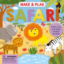 Make & Play: Safari, Board book Book