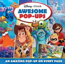 Disney Pixar Awesome Pop-ups, Hardback Book