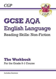 New Grade 9-1 GCSE English Language AQA Reading Skills Workbook: Non-Fiction (includes Answers), Paperback / softback Book