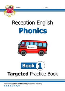 New English Targeted Practice Book: Phonics - Reception Book 1, Paperback / softback Book