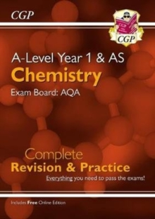 New A-Level Chemistry: AQA Year 1 & AS Complete Revision & Practice with Online Edition, Paperback / softback Book