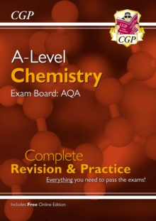 New A-Level Chemistry: AQA Year 1 & 2 Complete Revision & Practice with Online Edition, Paperback / softback Book