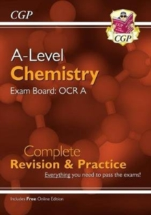 New A-Level Chemistry: OCR A Year 1 & 2 Complete Revision & Practice with Online Edition, Paperback / softback Book