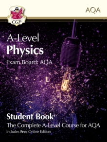 New A-Level Physics for AQA: Year 1 & 2 Student Book with Online Edition, Paperback / softback Book