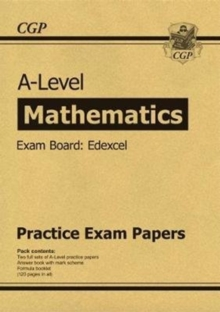 New A-Level Maths Edexcel Practice Papers (for the exams in 2020), Paperback / softback Book