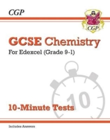 New Grade 9-1 GCSE Chemistry: Edexcel 10-Minute Tests (with answers), Paperback / softback Book