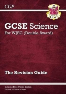 New WJEC GCSE Science Double Award - Revision Guide (with Online Edition), Paperback / softback Book