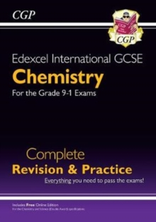 New Grade 9-1 Edexcel International GCSE Chemistry: Complete Revision & Practice with Online Edition, Paperback / softback Book