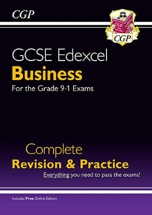 New GCSE Business Edexcel Complete Revision and Practice - Grade 9-1 Course (with Online Edition), Paperback / softback Book