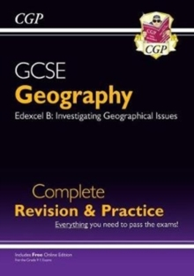 New Grade 9-1 GCSE Geography Edexcel B Complete Revision & Practice (with Online Edition), Paperback / softback Book
