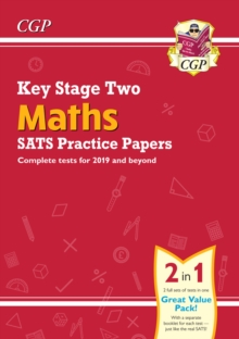 New KS2 Maths SATS Practice Papers (for the 2019 tests), Paperback / softback Book