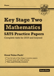New KS2 Maths SATS Practice Papers: Pack 5 (for the 2019 tests), Paperback / softback Book