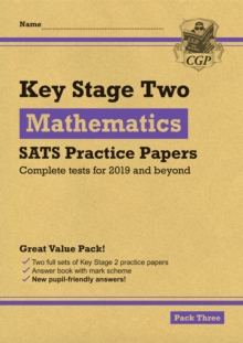 New KS2 Maths SATS Practice Papers: Pack 3 (for the 2019 tests), Paperback / softback Book