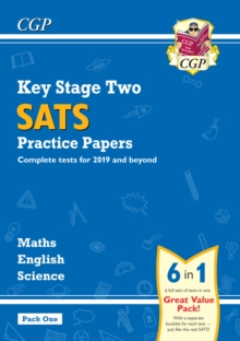 New KS2 Complete SATS Practice Papers Pack: Science, Maths & English (for the 2019 tests) - Pack 1, Paperback / softback Book