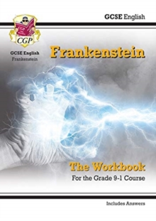 New Grade 9-1 GCSE English - Frankenstein Workbook (includes Answers), Paperback / softback Book