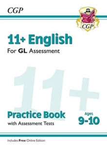 New 11+ GL English Practice Book & Assessment Tests - Ages 9-10 (with Online Edition), Paperback / softback Book