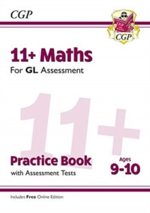 New 11+ GL Maths Practice Book & Assessment Tests - Ages 9-10 (with Online Edition), Paperback / softback Book