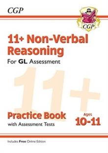New 11+ GL Non-Verbal Reasoning Practice Book & Assessment Tests - Ages 10-11 (with Online Edition), Paperback / softback Book