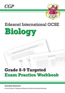 New Edexcel International GCSE Biology: Grade 8-9 Targeted Exam Practice Workbook (with answers), Paperback / softback Book