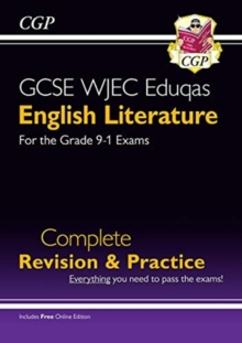 New Grade 9-1 GCSE English Literature WJEC Eduqas Complete Revision & Practice (with Online Edition), Paperback / softback Book