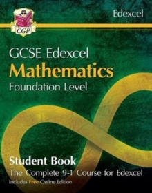 New Grade 9-1 GCSE Maths Edexcel Student Book - Foundation (with Online Edition), Paperback / softback Book