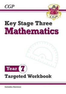 New KS3 Maths Year 7 Targeted Workbook (with answers), Paperback / softback Book