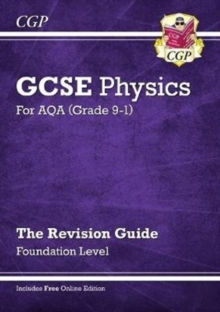 New Grade 9-1 GCSE Physics: AQA Revision Guide with Online Edition - Foundation, Paperback / softback Book
