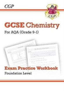 New Grade 9-1 GCSE Chemistry: AQA Exam Practice Workbook - Foundation, Paperback / softback Book