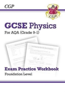 New Grade 9-1 GCSE Physics: AQA Exam Practice Workbook - Foundation, Paperback / softback Book