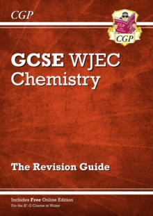 New WJEC GCSE Chemistry Revision Guide (with Online Edition), Paperback / softback Book