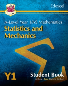 New A-Level Maths for Edexcel: Statistics & Mechanics - Year 1/AS Student Book (with Online Edn), Paperback / softback Book