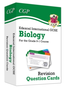 New Grade 9-1 Edexcel International GCSE Biology: Revision Question Cards, Mixed media product Book
