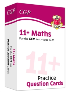 New 11+ CEM Maths Practice Question Cards - Ages 10-11, Mixed media product Book