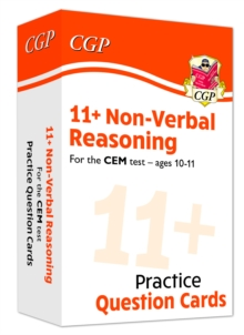 New 11+ CEM Non-Verbal Reasoning Practice Question Cards - Ages 10-11, Mixed media product Book