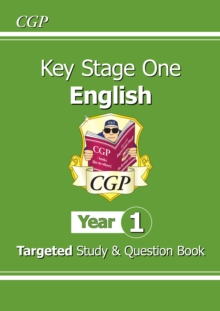 New KS1 English Targeted Study & Question Book - Year 1, Paperback / softback Book