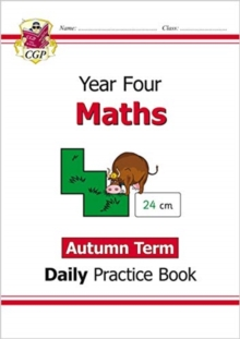 New KS2 Maths Daily Practice Book: Year 4 - Autumn Term, Paperback / softback Book
