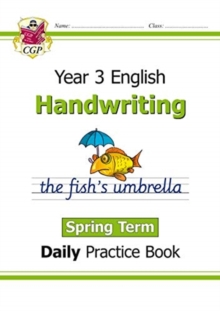 New KS2 Handwriting Daily Practice Book: Year 3 - Spring Term, Paperback / softback Book