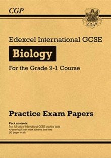 New Edexcel International GCSE Biology Practice Papers - for the Grade 9-1 Course, Paperback / softback Book