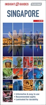 Insight Guides Flexi Map Singapore, Sheet map Book
