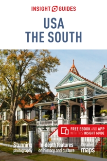 Insight Guides USA: The South (Travel Guide with Free eBook), Paperback / softback Book
