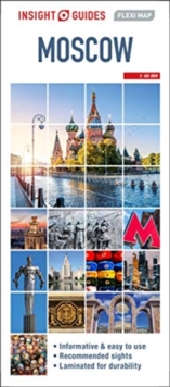 Insight Guides Flexi Map Moscow, Sheet map Book