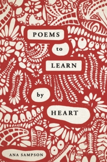 Poems to Learn by Heart, Paperback / softback Book