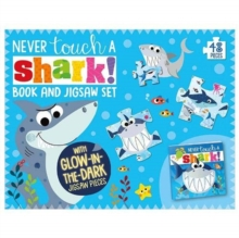 Never Touch A Shark Book and Jigsaw Boxset, Mixed media product Book