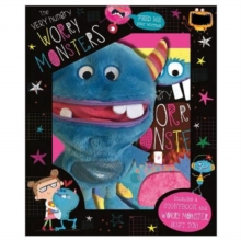 The Very Hungry Worry Monster Plush Box Set, Mixed media product Book