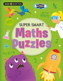 Brain Boosters: Super-Smart Maths Puzzles, Paperback / softback Book