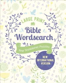 Large Print Bible Wordsearch : New Testament Puzzles (NIV Edition), Paperback / softback Book