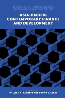 Asia-Pacific Contemporary Finance and Development, Hardback Book
