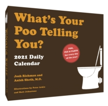 2021 Daily Calendar: What's Your Poo Telling You?, Calendar Book