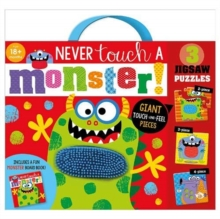 Never Touch A Monster Jigsaw Puzzle, Mixed media product Book