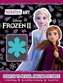 Disney Frozen 2: Scratch Art, Paperback / softback Book